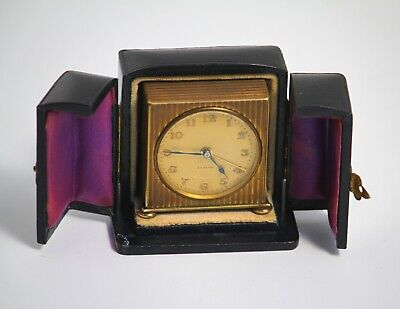 AU192.95 • Buy Zenith 8 Day Swiss Made Travel Alarm Clock With Original Protective Case