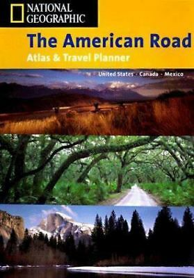 The American Road, An Atlas And Travel Planner By U. S. National Geographic... • 8.13£