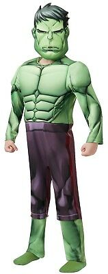 £18.98 • Buy Fancy Dress Costume ~ Boys Avengers DLX Hulk Childs Ages 3-8 Years