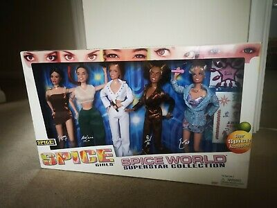 £350 • Buy Very Rare Spice Girls 'Spice World Superstar Collection' 12  Dolls - Unopened