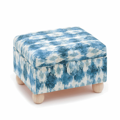 £34.99 • Buy Sewing Stool With  Tray And Round Bun Feet