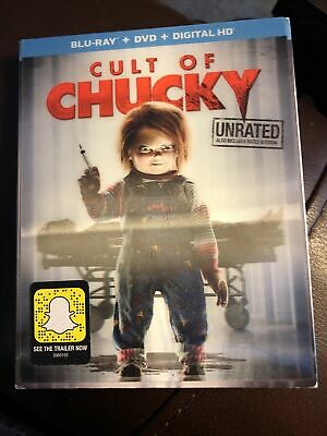 CULT OF CHUCKY BLU-RAY DVD DIGITAL HD JENNIFER TILLY CHILD'S PLAY 7 HORROR (c) • 10.59£