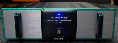 $2995 • Buy Magnus Audio MA-260 Class A Stereo Amp. Lots Of Positive Reviews! $6,000 MSRP