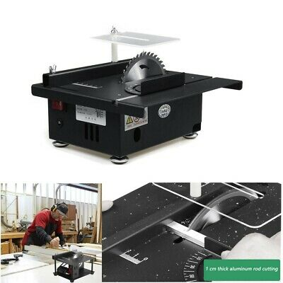 120W Mini Table Saw Polishing Engraving Handmades Woodworking Bench Hobby Crafts • 137.30£