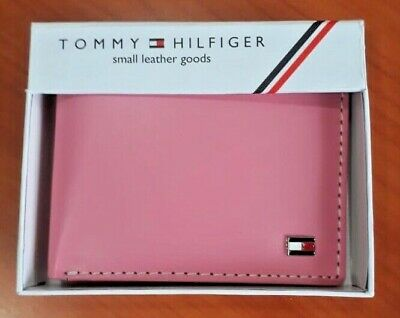 £17.99 • Buy Mens Leather Wallet 'Tommy Hilfiger' Peony , Bifold, Coin Pouch, Card Slot