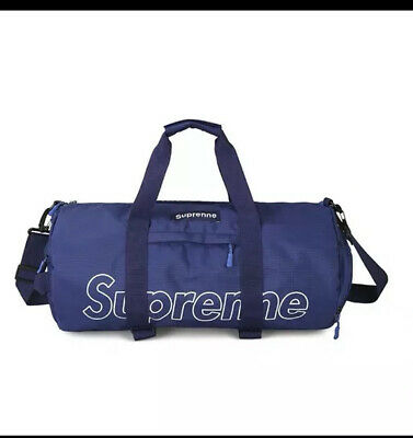 $ CDN40.83 • Buy Supreme Unisex Duffel Bag Blue