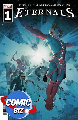 Eternals #1 (2021) 1st Printing Ribic Main Cover Marvel Comics ($4.99) • 4.25£