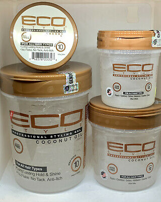 £3.99 • Buy ECO Styler Professional Coconut Oil Styling Gel All Sizes Avaliable