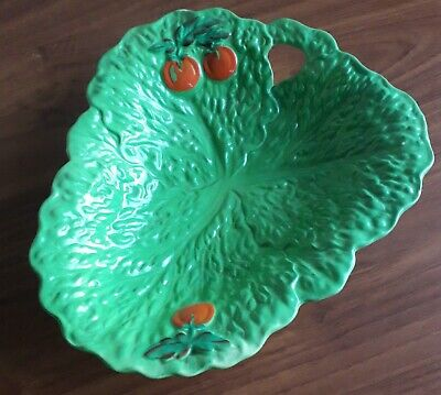 £8.99 • Buy Vintage Beswick Ware Green  Cabbage Lettuce Leaf & Tomato Salad Bowl Or Plate