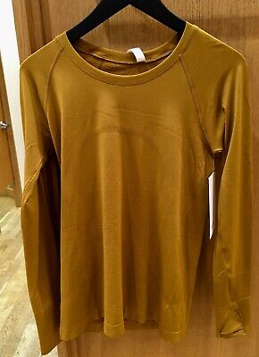 $ CDN149.99 • Buy Lululemon Swiftly Long Sleeve Spiced Bronze 2 4 6 8 10 12