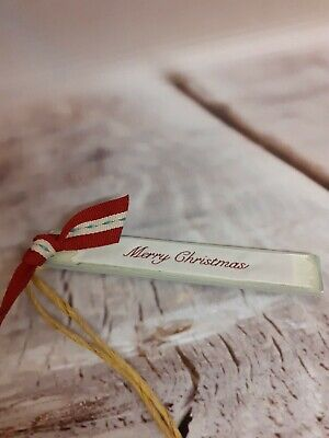 £1.49 • Buy * SALE *  East Of India MERRY CHRISTMAS Wooden Gift Tag