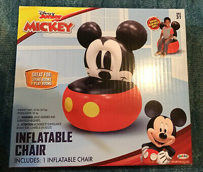£18.21 • Buy Disney Junior Mickey Mouse Inflatable Chair For Kids New