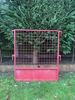 £25 • Buy Construction Red Security Metal Railing Crowd Barrier Fence 860(w)x1000(h) Mm