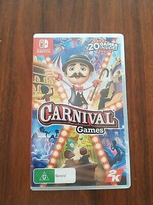 AU40 • Buy Carnival Games 20-in-1 (Nintendo Switch) LIKE NEW