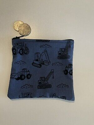 AU6 • Buy Tractor Truck Bulldozer Toy Holder Navy Black Medicine Purse 14 X 14 Cm