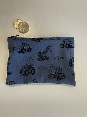 AU6 • Buy Tractor Truck Bulldozer Toy Holder Navy Black Medicine Purse 18 X 13cm