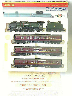 Hornby R2112 Train Pack The Caledonian Limited Edition Tested Superb 00 Gauge OO • 99.95£