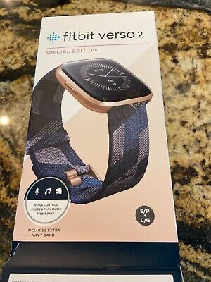 $ CDN76.57 • Buy Fitbit Versa 2 Special Edition Alexa Built-in Health & Fitness Smartwatch -...
