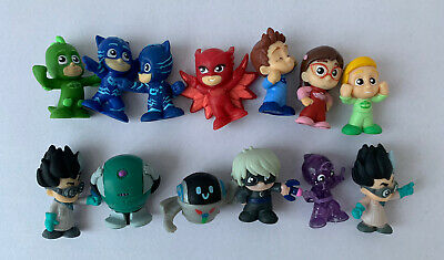 Pj Masks Mini Figure Gekko Catboy Owlette Ninja Romeo Etc Toys Lot Bundle • 6.60£