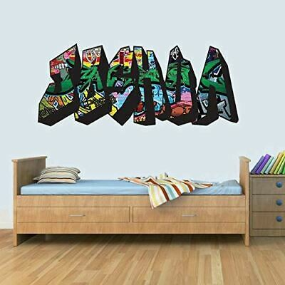Graffiti Childrens Name Wall Art Decal Vinyl Stickers For Boys/Girls Bedroom • 14.99£