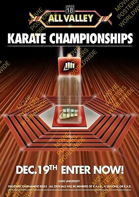 $6.30 • Buy #7 Make Your Selection Karate Kid Cobra Kai All Valley A4 A3 A2 A1 Poster