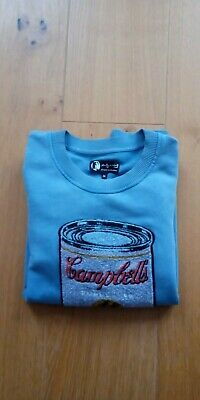NEW Pepe Jeans Andy Warhol Campbell's Soup Can Sweatshirt, Size M • 20£