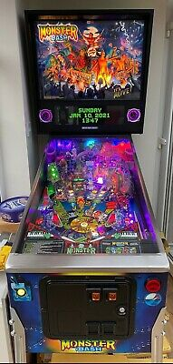 Monster Bash Remake-Special Edition Pinball Machine-Mint Condition-Home Use Only • 7,495£