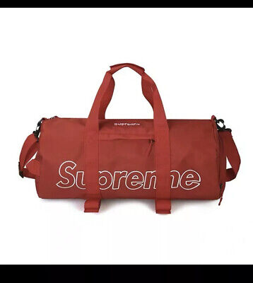 $ CDN42.10 • Buy Supreme Unisex Duffel Bag Red