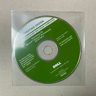 Microsoft Windows XP Professional Service Pack 2 32 Bit Reinstallation CD DELL • 10.99£