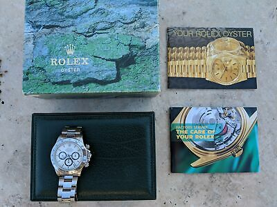 $ CDN26793.92 • Buy 1995 Rolex Daytona 16520  Watch W Serial W/ Zenith Movement