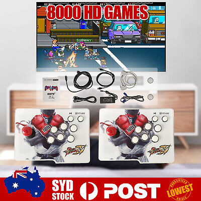 AU188.98 • Buy 4500 Games In 1 Pandora's Box Retro Key Split 3D Games FULL 2 Players Arcade HD