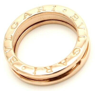 AU1004.03 • Buy BVLGARI B-zero1 Ring K18 Rose Gold Size #48 US #4.5 Polished Ex