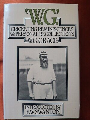 W. G. Cricketing Reminiscences & Personal Recollections W.G. Grace Sport Cricket • 1.99£