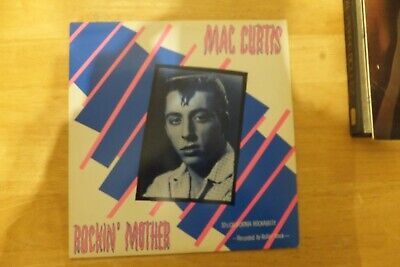 Mac Curtis-rockin Mother-70's California Rockabilly-radar Record-rad-22-1979-ori • 19.99£