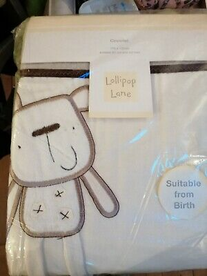 £10.50 • Buy Unisex Baby Out To Dry Coverlet Lollipop Lane. Furry Lining BNIB
