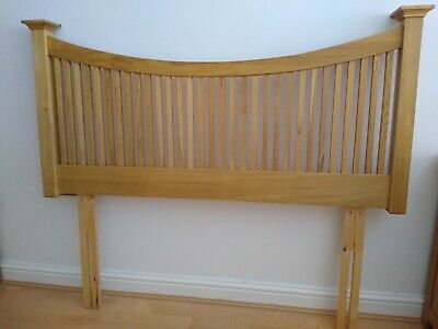 """Oak Headboard : Willis And Gambier For Double Bed 4'6"""" • 70£"""