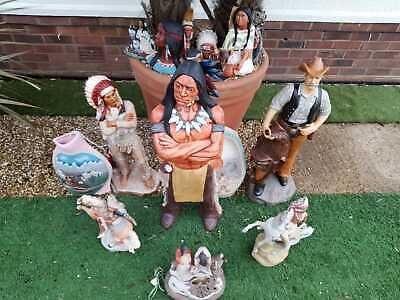 Native American Indian And Cowboy Ornaments • 200£