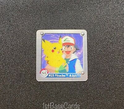 $6.99 • Buy S-5 Pikachu & Ash Pokemon Series One 3D Lenticular Action Flipz Chase Cards