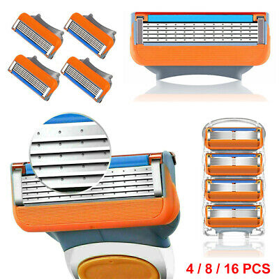 4/8/16 PCS Blades For Gillette Fusion Proglide Power Replacement Mens Razor Kit • 3.89£