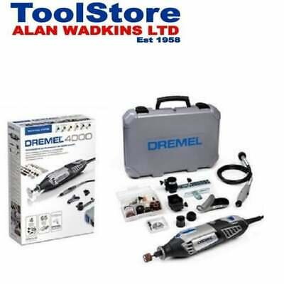 Dremel 4000-4/65 240v Multi Tool With 4 Attachments + 65 Accessories F0134000JR • 114.95£