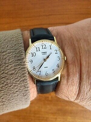 Timex Easy Reader Mens Watch Excellent Condition • 12£