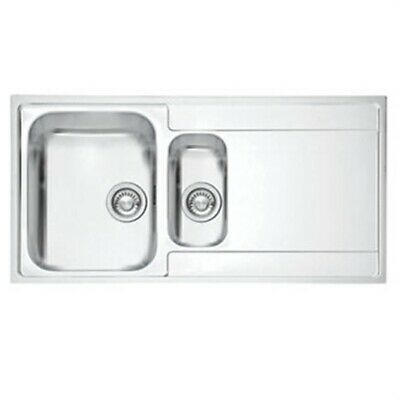 Franke Inset Kitchen Sink Stainless Steel 1½-bowl 1000 X 510mm(98) • 64.99£