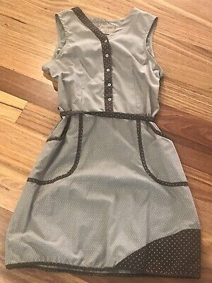 AU8 • Buy Cute Spicy Green Mango Dress Sz 10 - As New