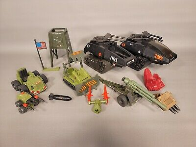 $ CDN26.14 • Buy Vintage GI Joe Cobra Lot Of Vehicles And Parts HISS PAC/RAT Howitzer