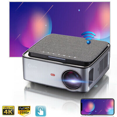 AU599 • Buy 1080P Portable Projector WIFI LED Home Theater Mini Projector HDMI 300  4K MAX