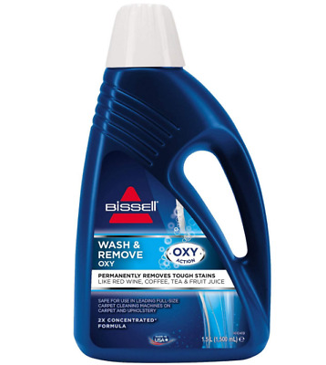 Bissell Wash Deep Clean 2X Concentrated Carpet Shampoo Cleaner Formula Solution • 21.99£