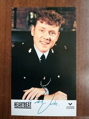 MARK JORDON *Phil Bellamy* HEARTBEAT PRE-SIGNED CAST CARD AUTOGRAPH • 6.99£
