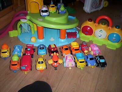Happyland Car Park Plus Police Station Toy • 7£