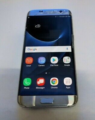 $ CDN88.52 • Buy Samsung Galaxy S7 Edge(SM-G935V) Silver - Verizon GSM Unlocked - Read Below