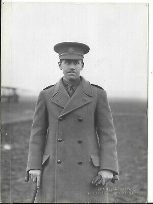 WW1 Original Photograph Royal Flying Corps Lt. J.L.Sandy Australian   • 27.95£